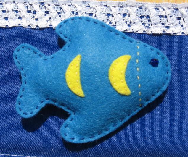 Игрушка рыбка своими руками фото