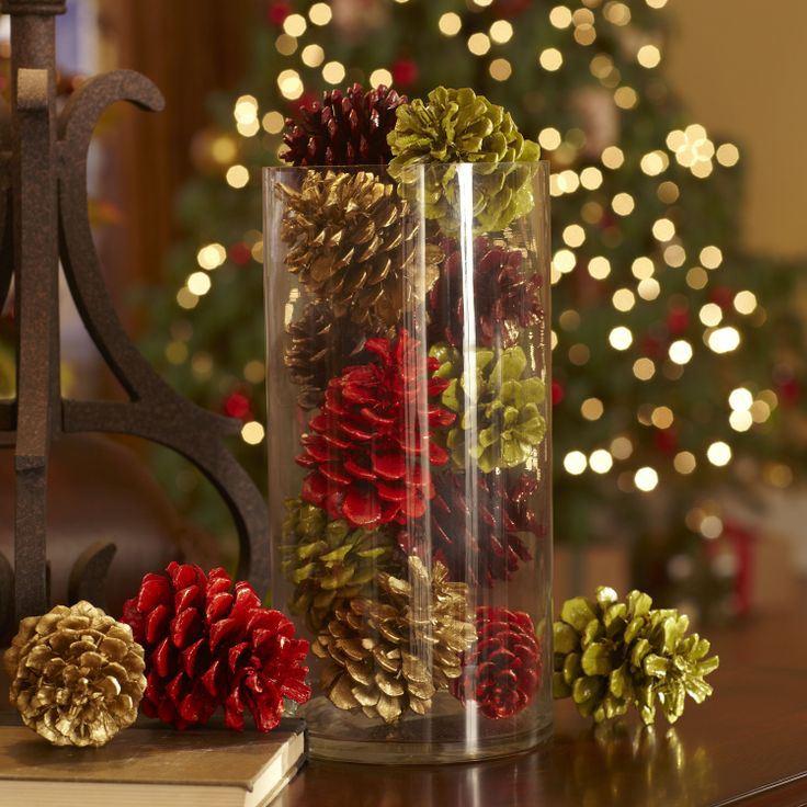 Декоративные украшения своими руками на новый год