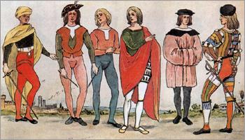 история возникновения чулок и колготок
