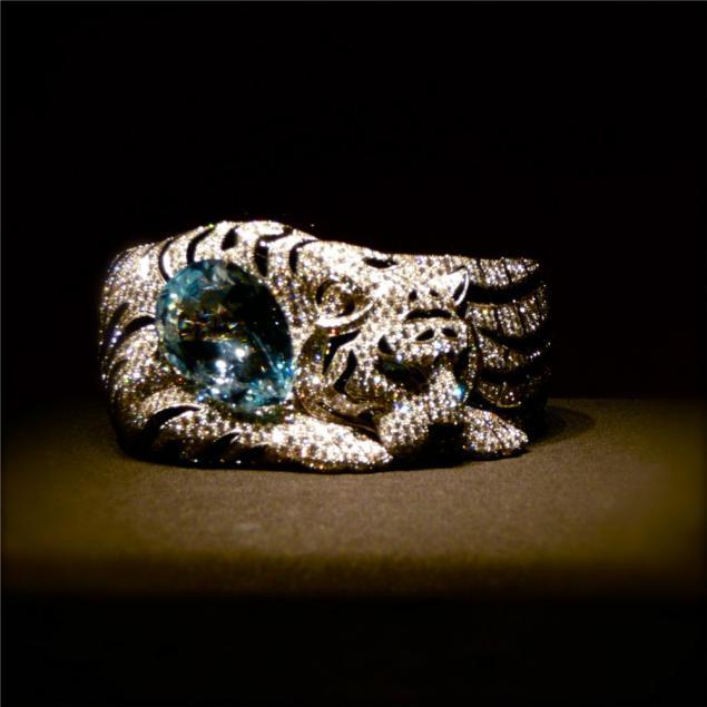 пантера кольцо