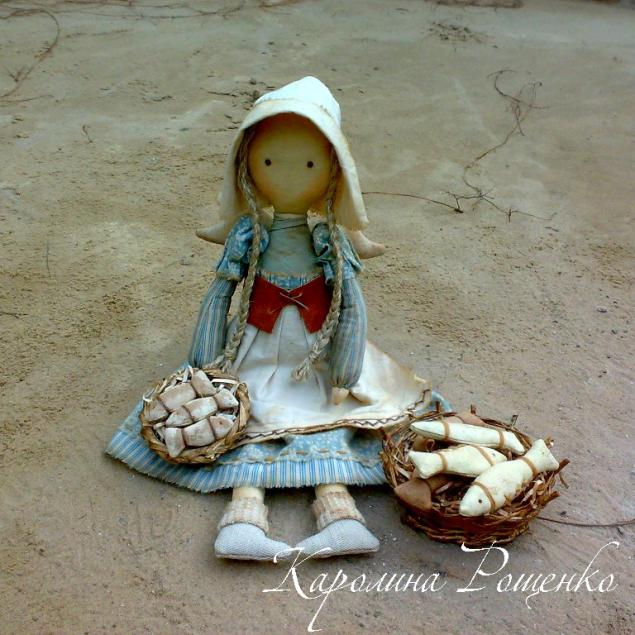 кукла, подарок на новый год, рыбка, голландия, рождественский подарок, авторская кукла, рыбачка