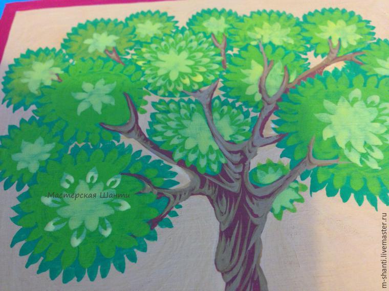 Расписываем яркую шкатулку-развивайку для детей, фото № 18