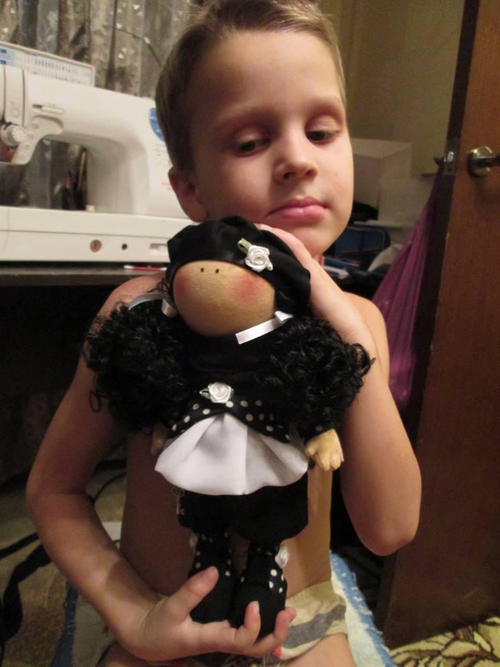 кукла ручной работы, общение