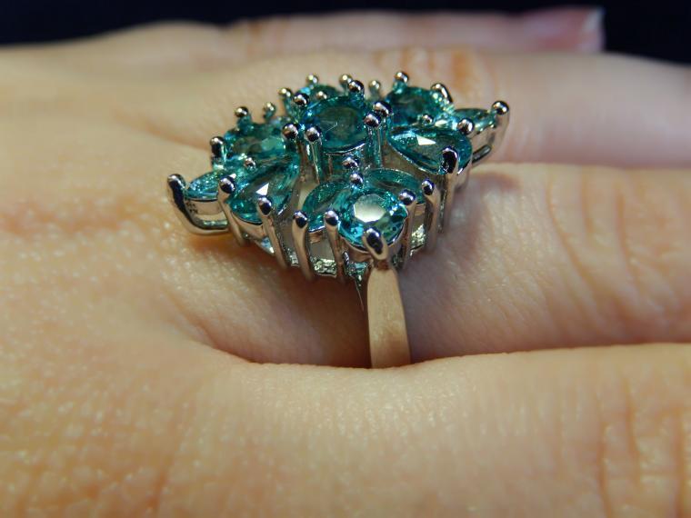 аукцион сегодня, аукционы, аукцион на кольцо, кольцо с камнем, серебро 925 пробы, красивый подарок, яркое украшение, вечернее украшение, подарок на 8 марта, подарок девушке