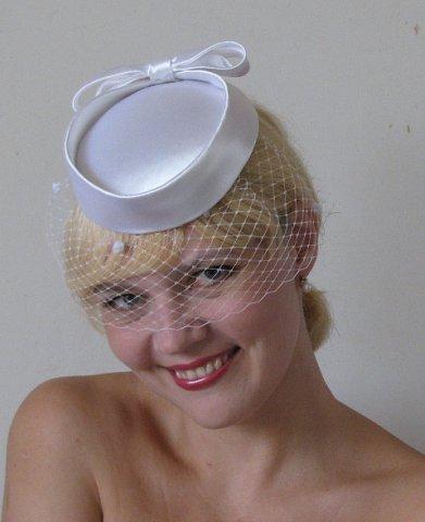 Шляпка с вуалью своими руками детская