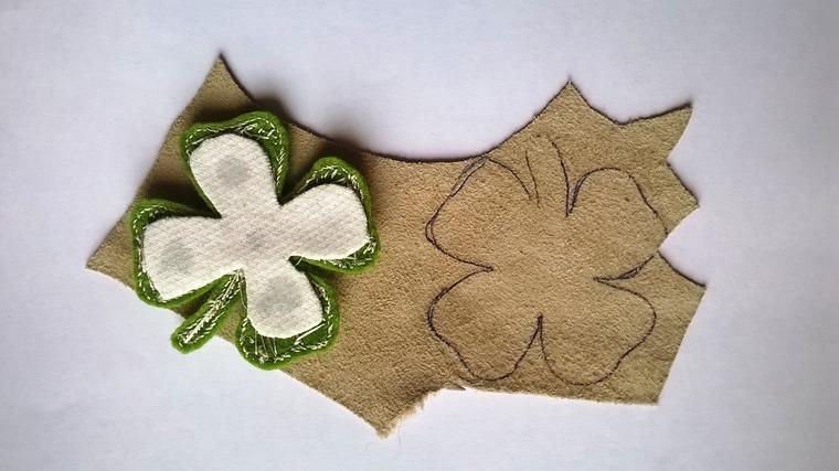 DIY on Creating a Cloverleaf Brooch for Luck, фото № 14