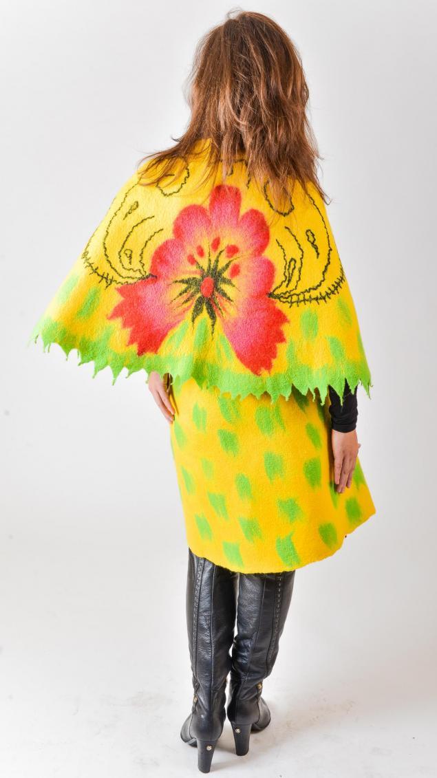 цветы, костюм, дизайнерская одежда
