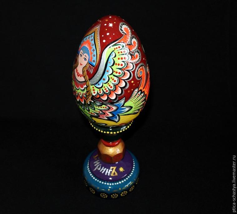 Делаем пасхальное яйцо «Сирин», фото № 23