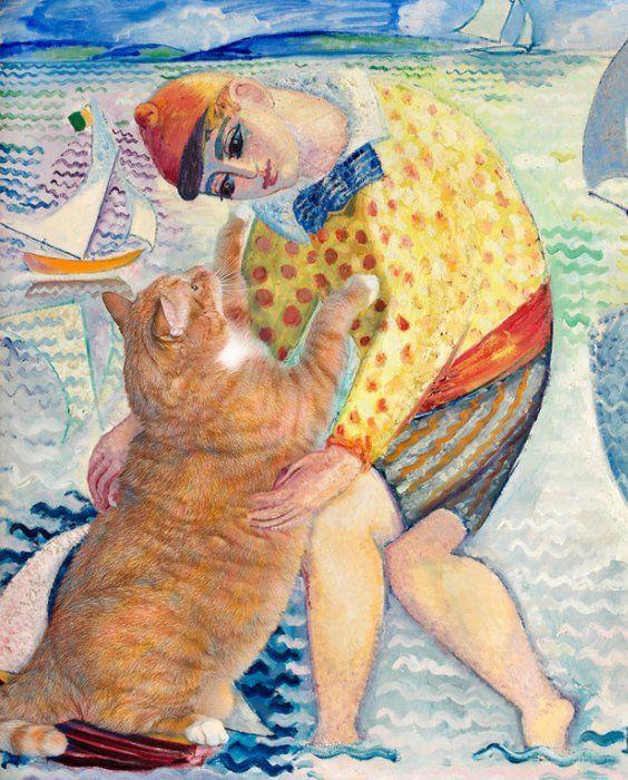 живопись и коты
