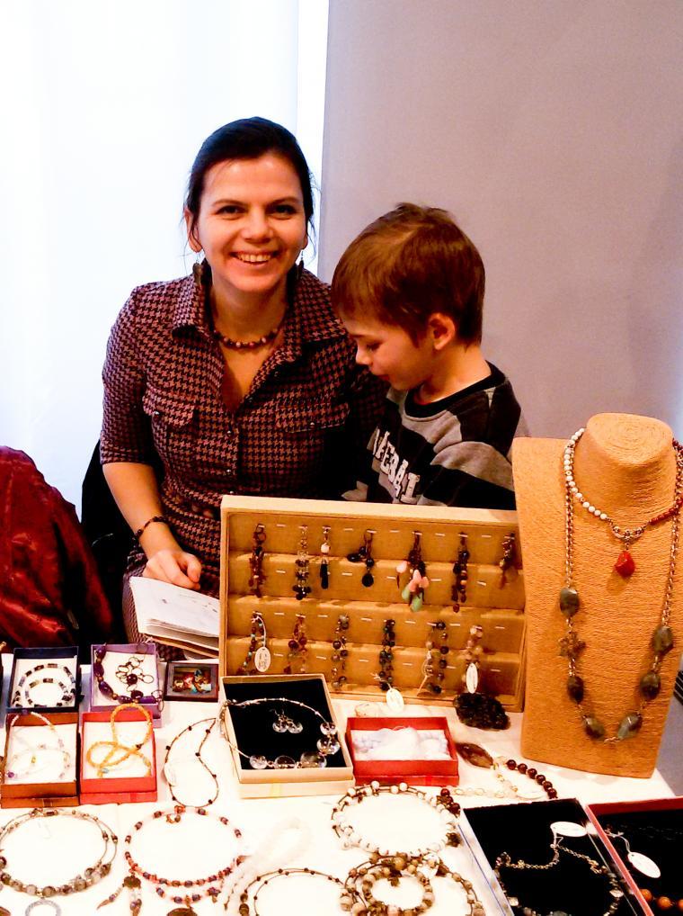 выставка, натуральные камни