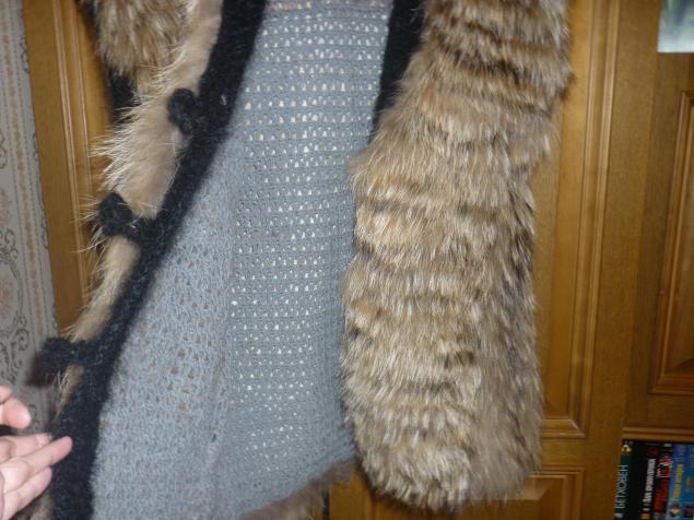 Жилетка из кусочков меха своими руками фото 521