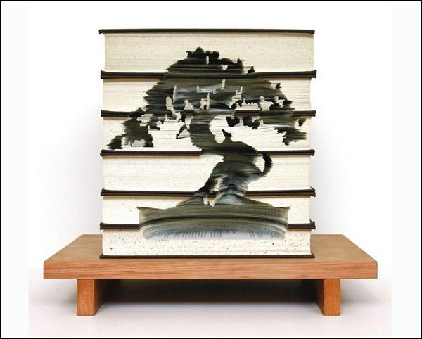 Резьба по книгам от Кайли Стиллман (Kylie Stillman)