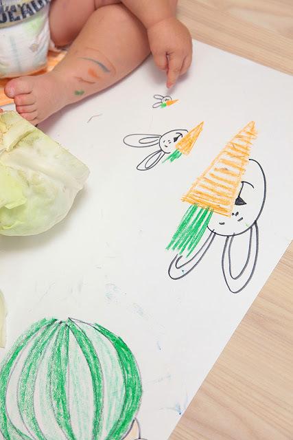 Как рисовать с малышом полутора лет, фото № 21