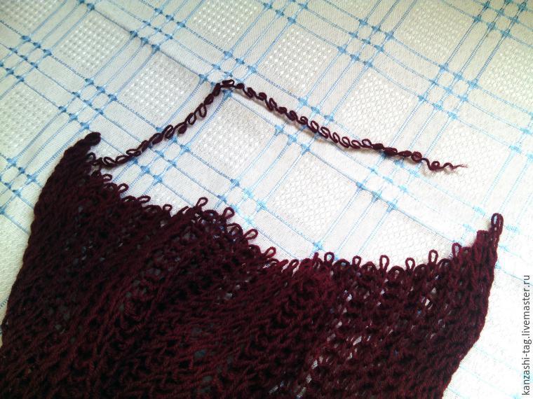 Красим старый шарф с помощью красителей для яиц, фото № 14