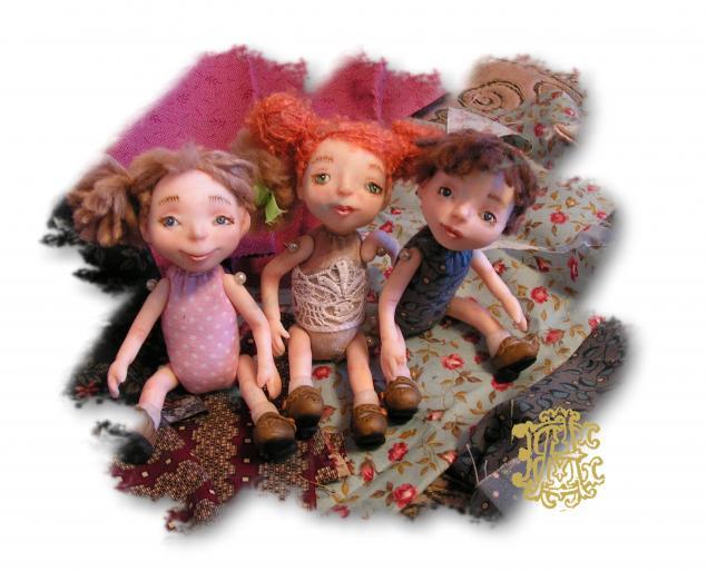 процесс, куколки, человечки
