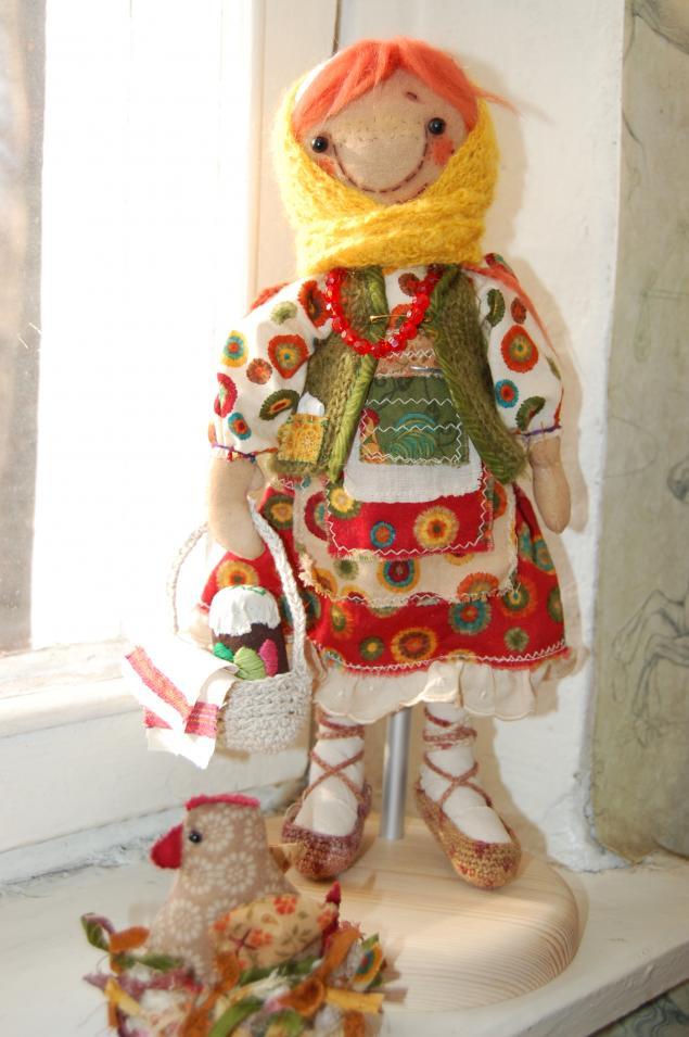 аукцион, фрося, текстильная кукла