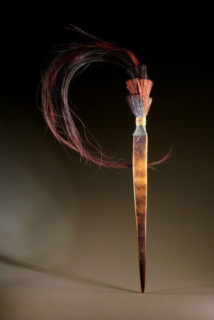 Bone hairpin from Naga people (2)