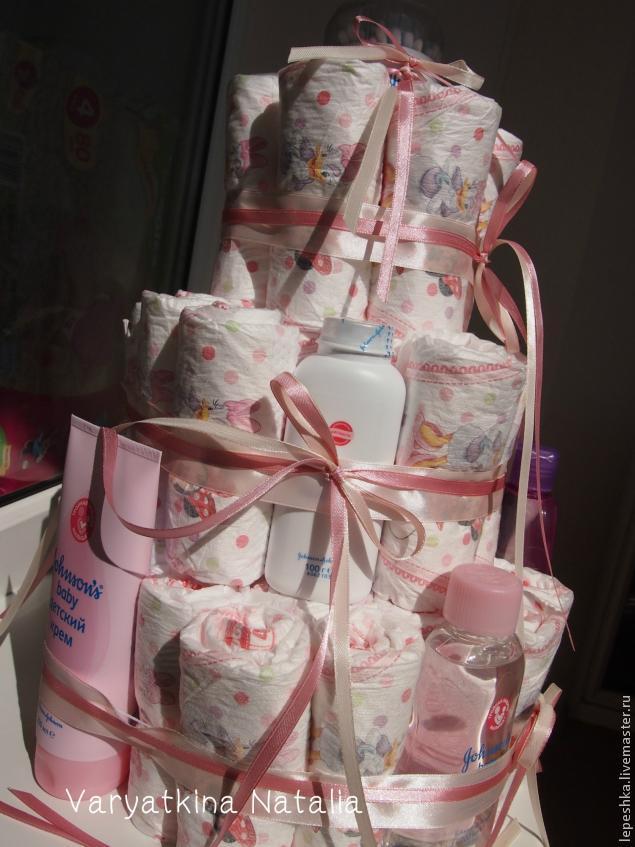 Как упаковать подарки для новорожденного 752