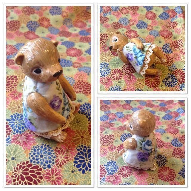 мишка ручной работы, мишка в подарок