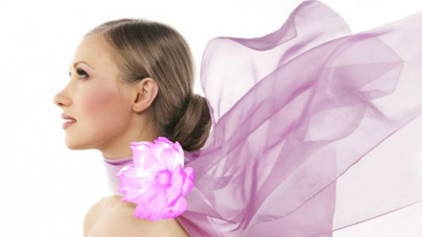цветы из ткани, украшение для волос
