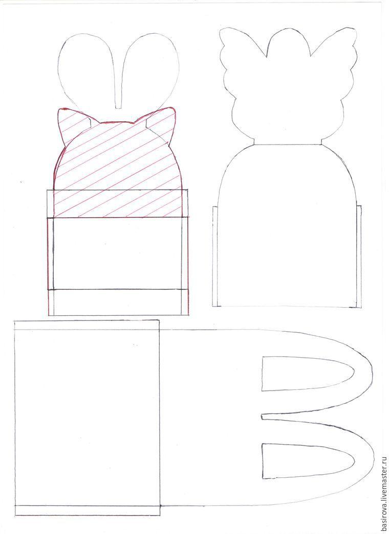 Шьем милую пасхальную корзину, фото № 1