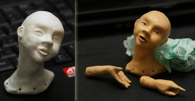 авторская кукла, кукла ручной работы, мальчик