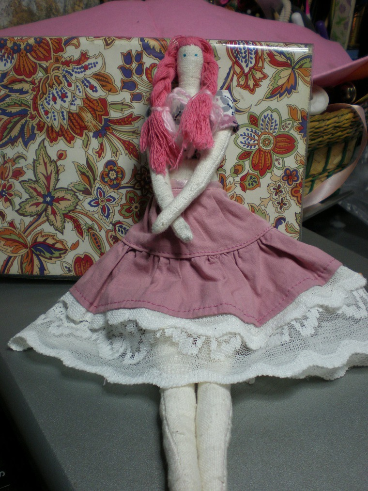 Как научиться сшить куклы 9