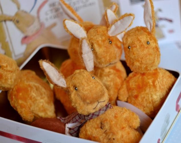 кролик, выставка мишек тедди