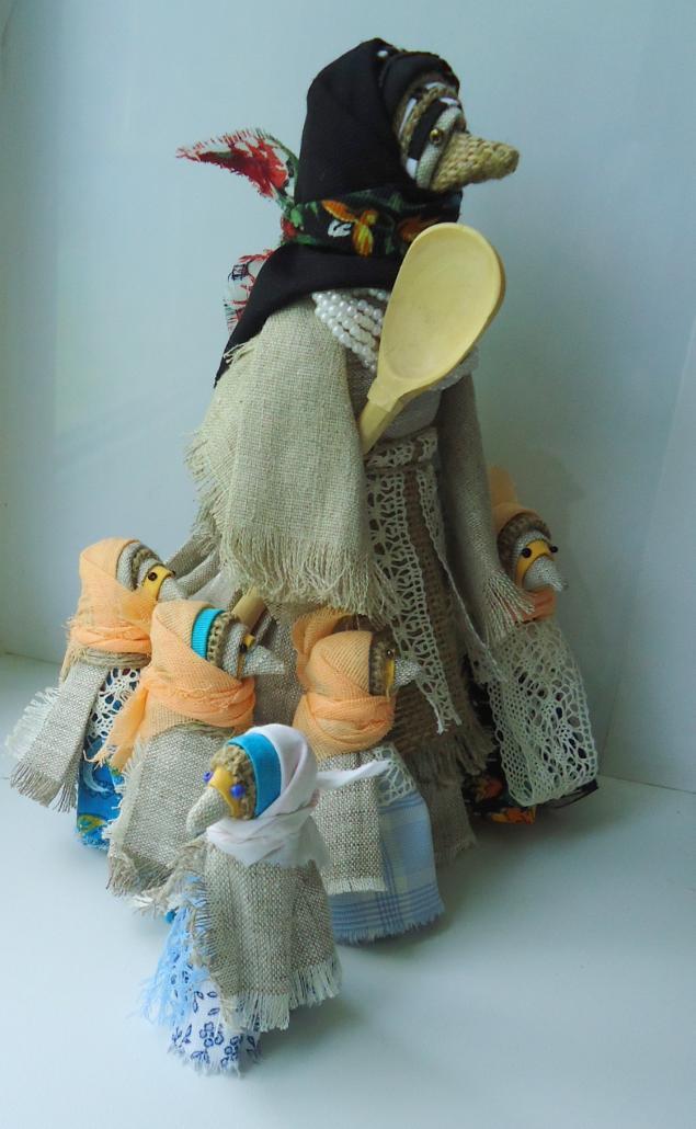 Вязанные косы дропс