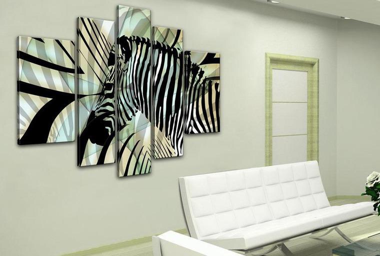 Картинки зебра в интерьере