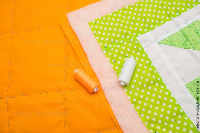 Как сшить стеганое детское одеяло на синтепоне 68
