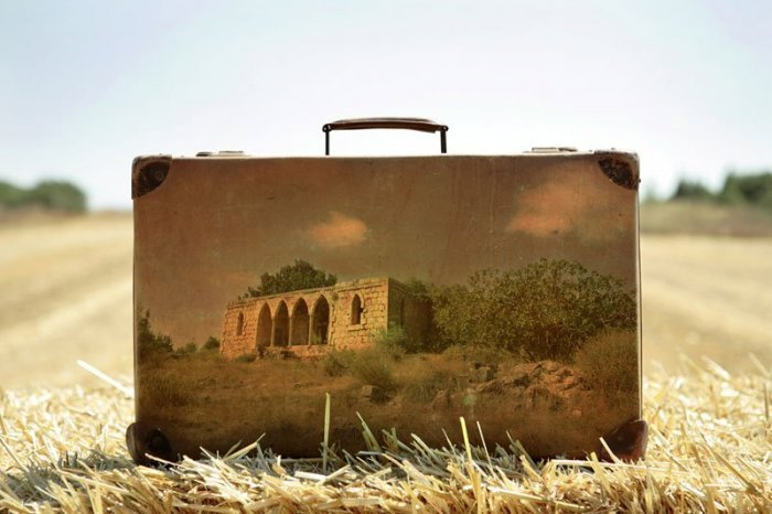 художник, memory suitcases