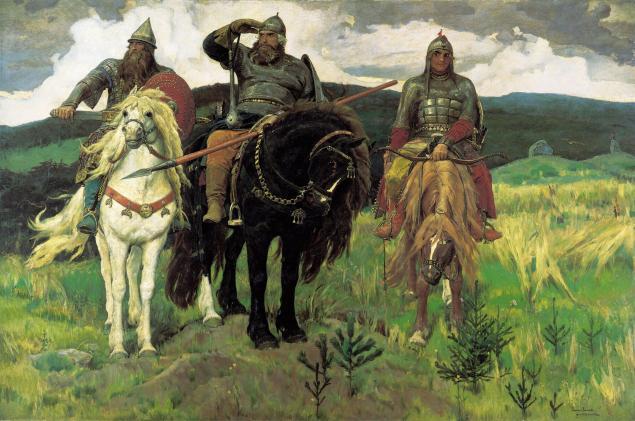 русские художники, модерн, иван царевич и серый волк