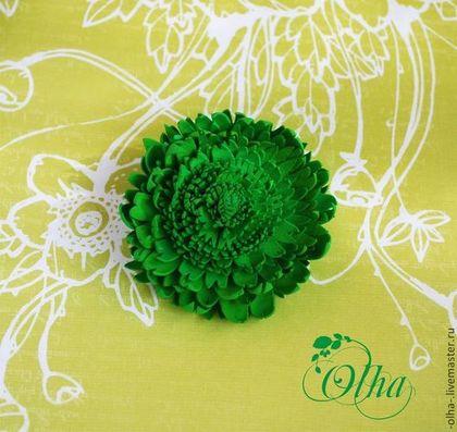 конфетка, призы, цветы из фоамирана, брошь-цветок