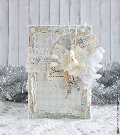 новый год, шебби-шик, сувенир, подарок на новый год