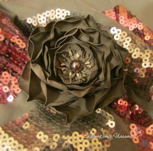 цветок, стальной