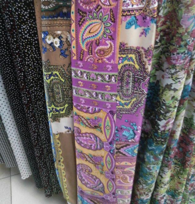 ткани для пошива юбок