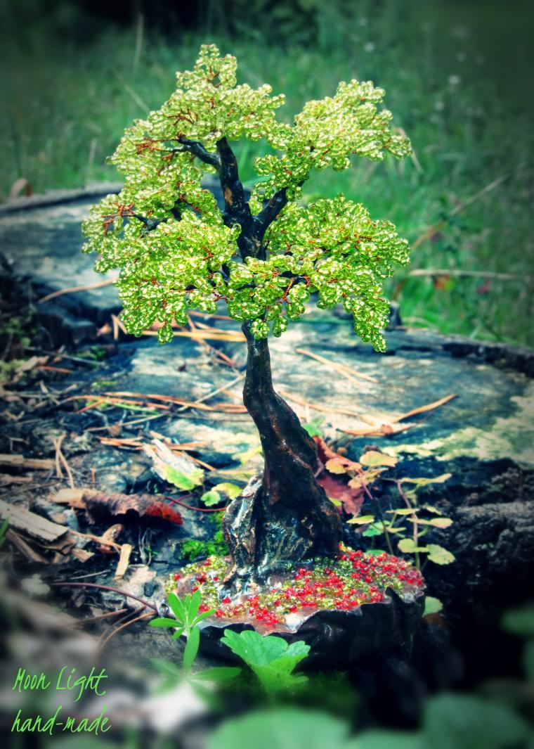 авторская работа, деревья