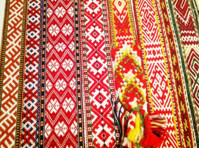 ткачество, славянский костюм