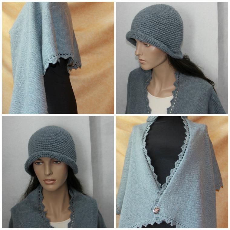 проект, вязание, жилет