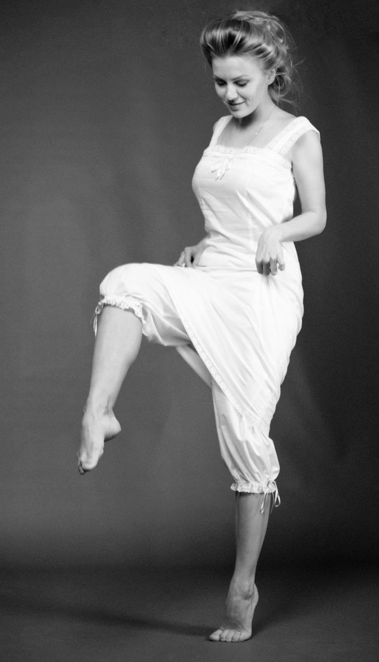 панталоны, история белья, женственность