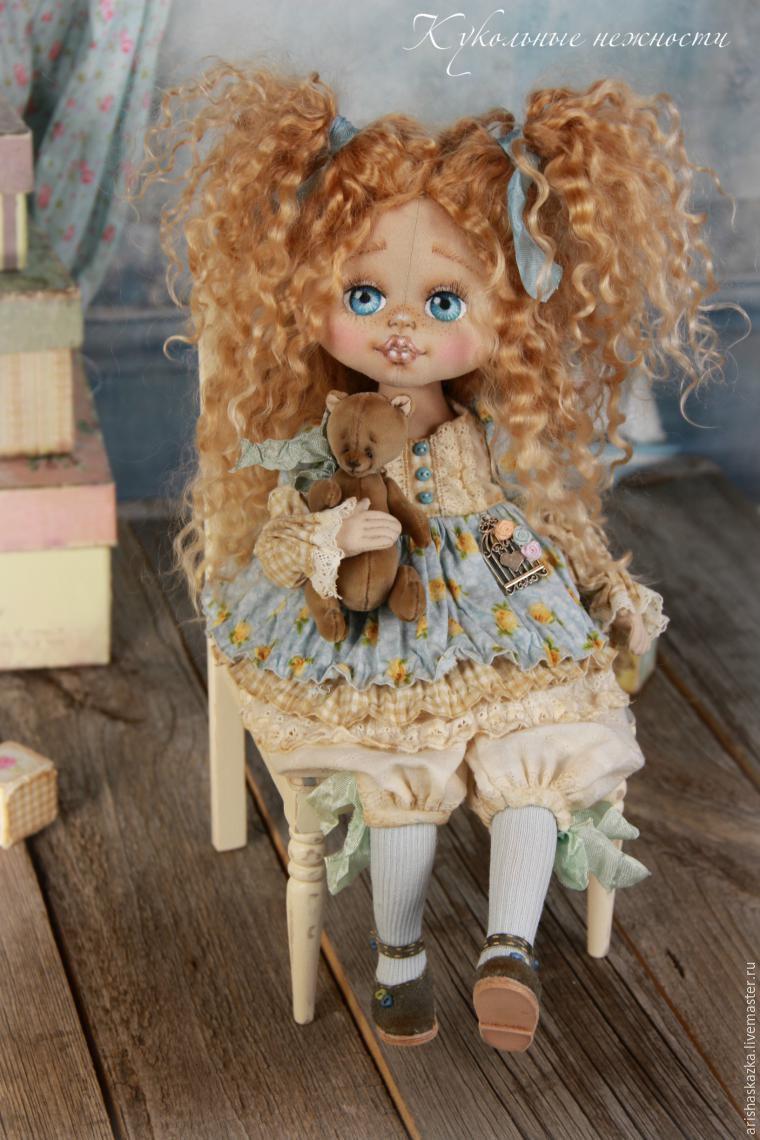 кукла текстильная, голова куклы