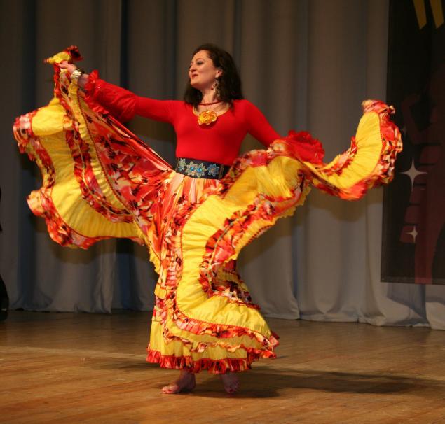 Цыганские платья выкройки