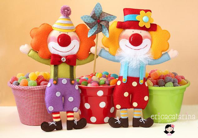 Фетровые игрушки Erica Catarina - Ярмарка Мастеров - ручная работа, handmade