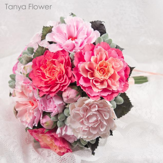 цветы, букет, пионы, пионовый букет, букет розовых пионов, букет невесты, свадебный букет из пионов, таня флауэр, tanya flower, decoclay