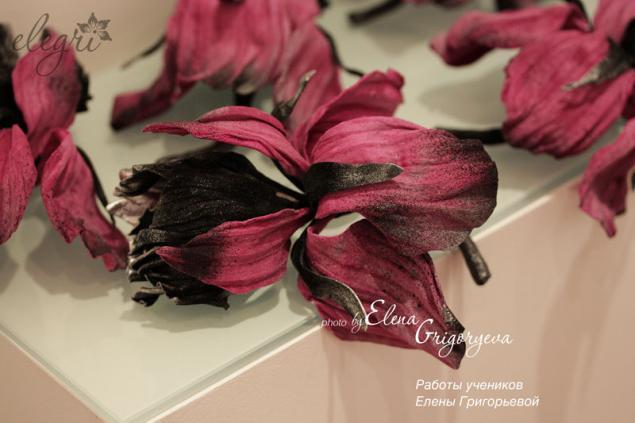 мастер-класс цветы