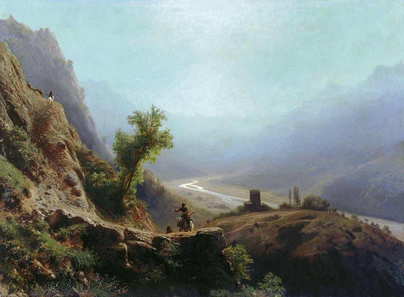 Забытая живопись Льва Лагорио, фото № 3