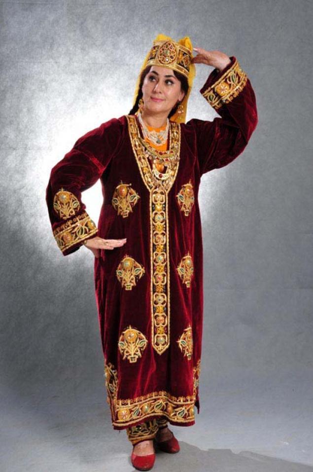 Узбекский костюм выкройки