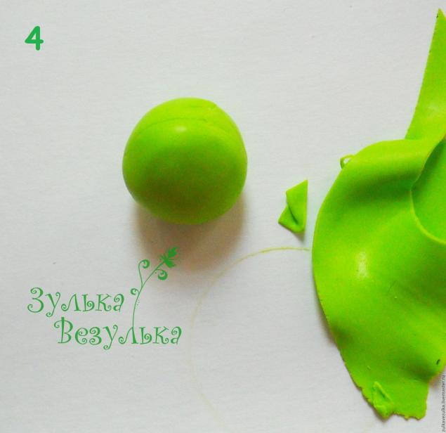 зеленое яблочка