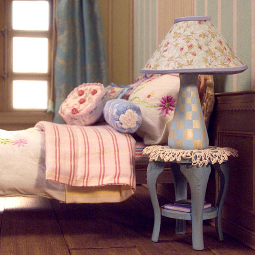 Невероятные кукольные домики и интерьеры Hila Rosenberg. Часть 2, фото № 4